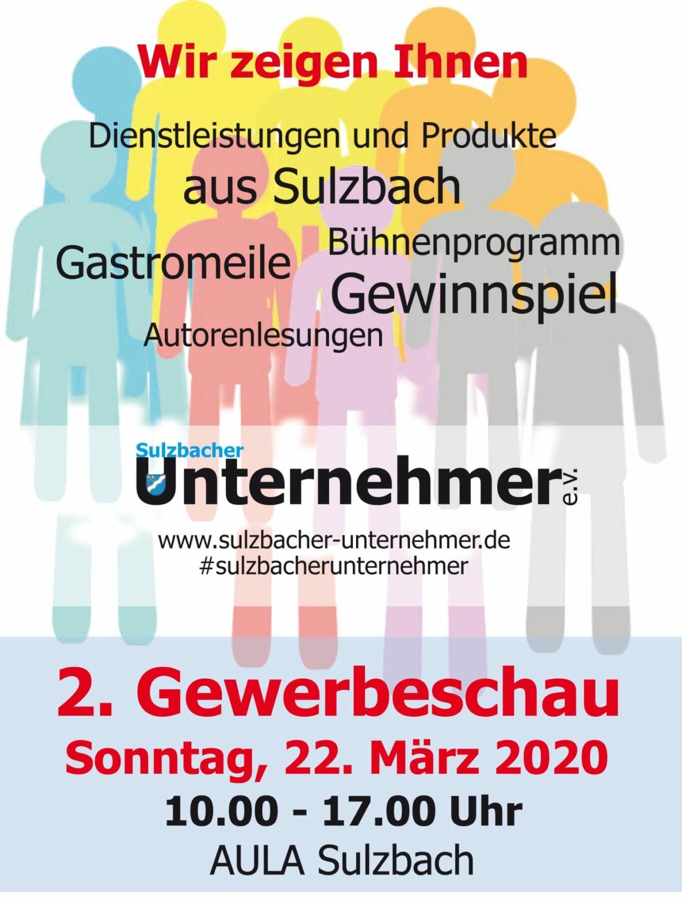 Sulzbach Gewerbeschau 2020