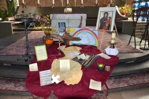 The Mutmach Altar in the Parish Church of St. Hildegard Neuweiler | Image: city