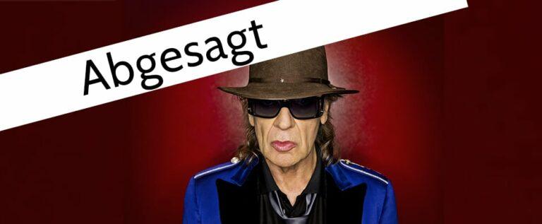 Das Udo Lindenberg Konzert in Lebach wurde abgesagt