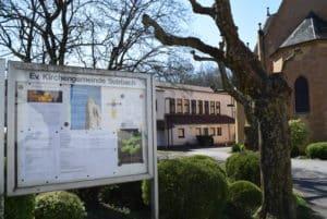 Tafel Gemeindehaus Sulzbach