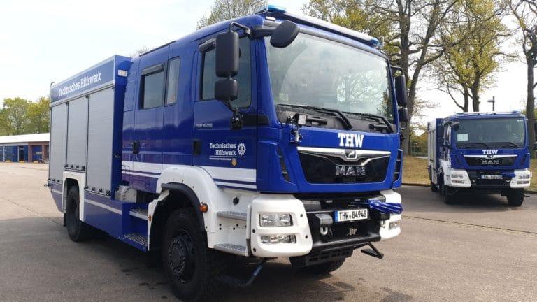GKW auf einem MAN Fahrgestell TGM 18.290