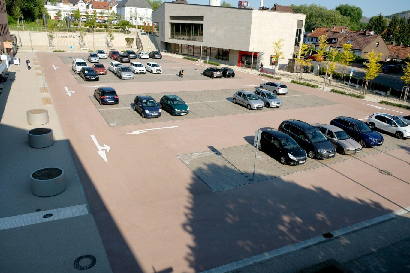 Neuer Marktplatz am 15.05.2020