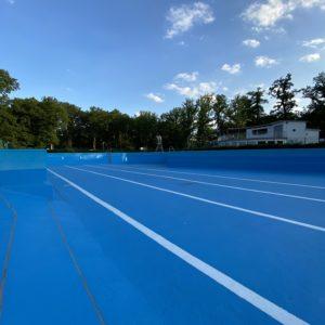 Open-air swimming pool Überherrn