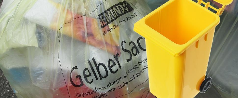 Gelbe Tonne im Saarland