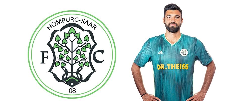 Daniel Di Gregorio bleibt beim FC Homburg | Bild: FC Homburg