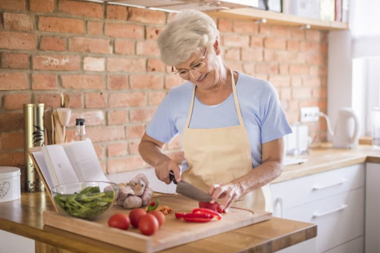 A balanced vitamin balance is important for seniors
