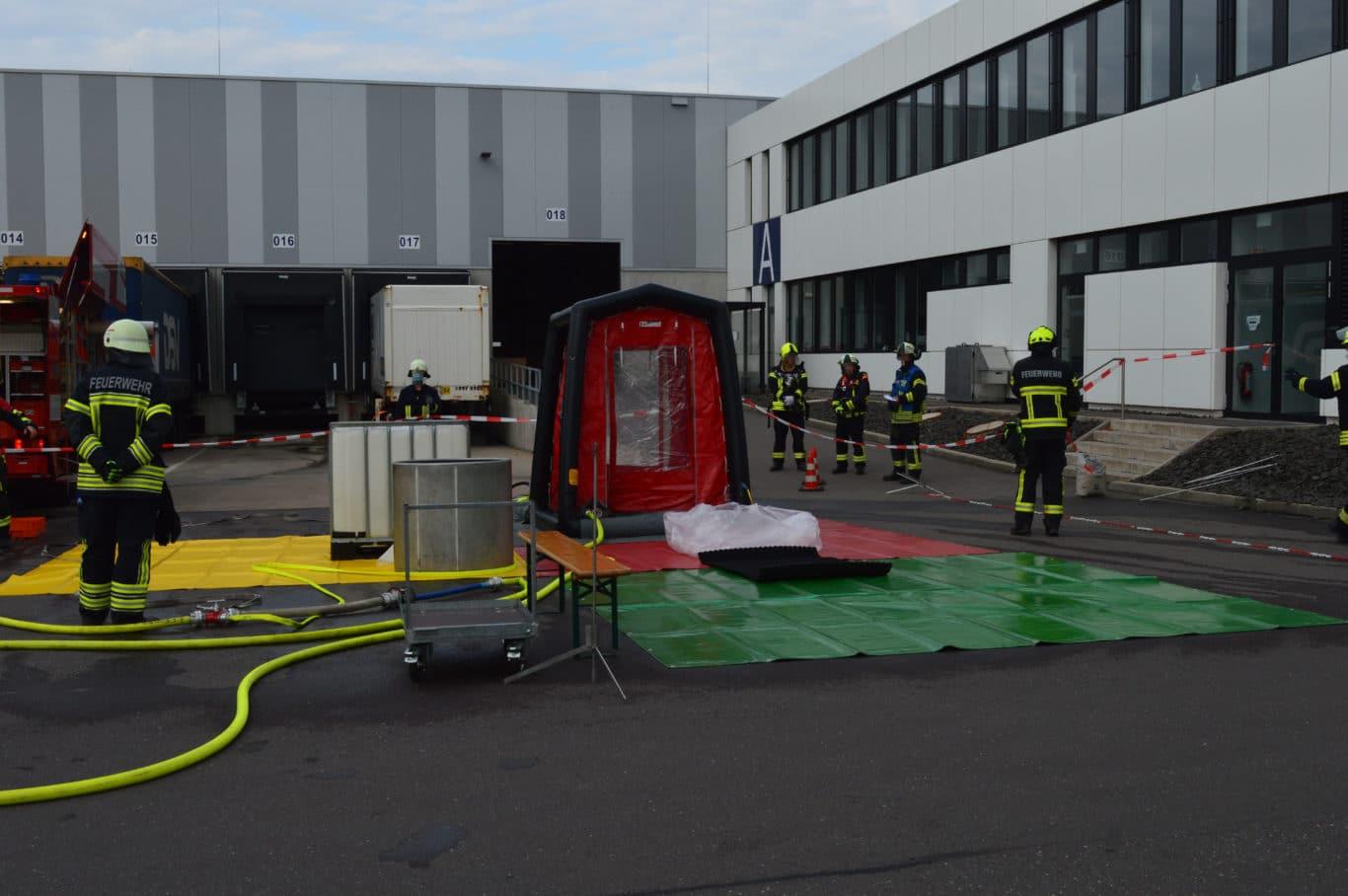 ABC-Einsatz in Kirkel | Bild: K.Dörner / Feuerwehr Kirkel
