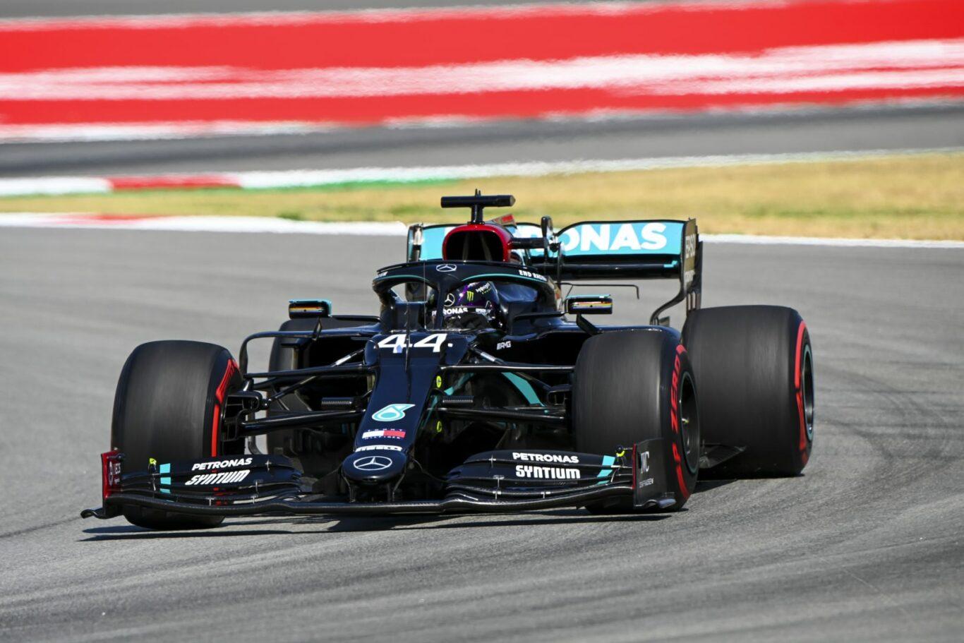 Lewis Hamilton beim Großen Preis von Spanien 2020 | Bild: LAT Images for Mercedes-Benz Grand Prix Ltd