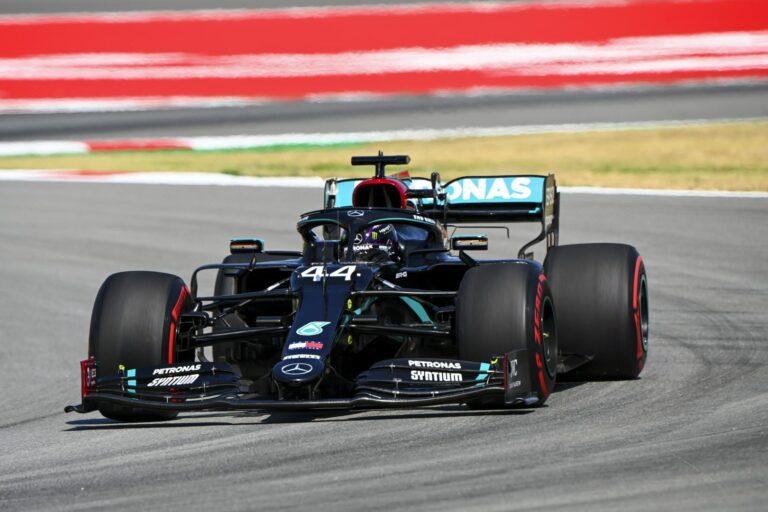 Lewis Hamilton na Grand Prix Hiszpanii 2020 | Zdjęcie: LAT Obrazy dla Mercedes-Benz Grand Prix Ltd