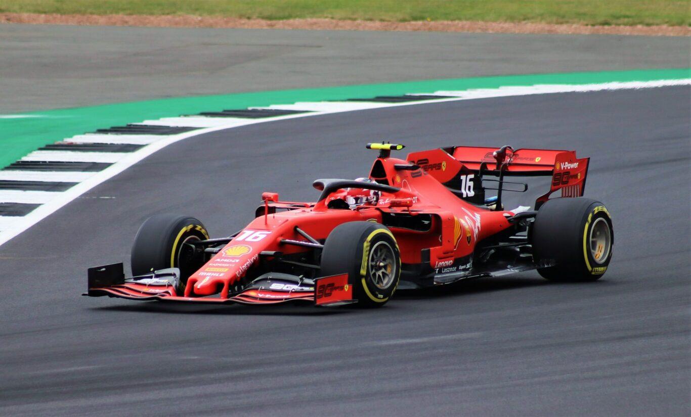 Charles Leclerc im Ferrari
