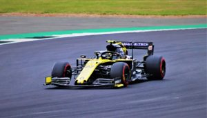 Nico Hulkenberg in the Renault