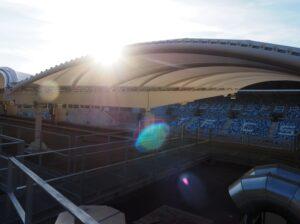 Una mirada al nuevo estadio de Saarbrücken   Imagen: capital del estado Saarbrücken