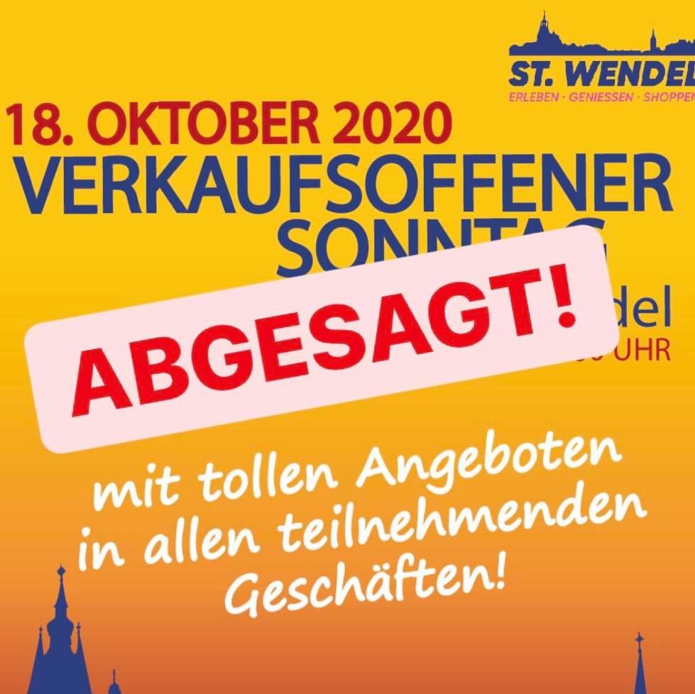 Verkaufsoffener Sonntag St. Wendel abgesagt