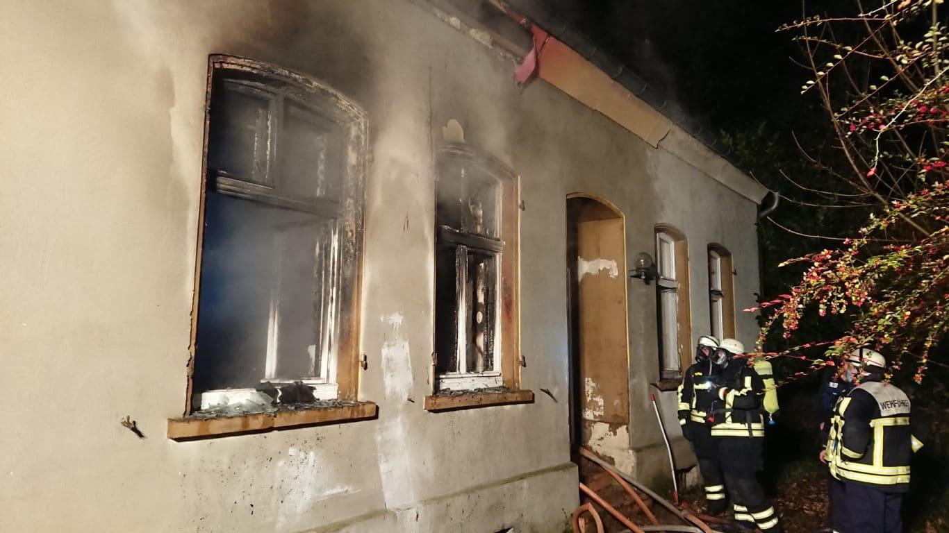 Brand in der Salmstraße in Sulzbach