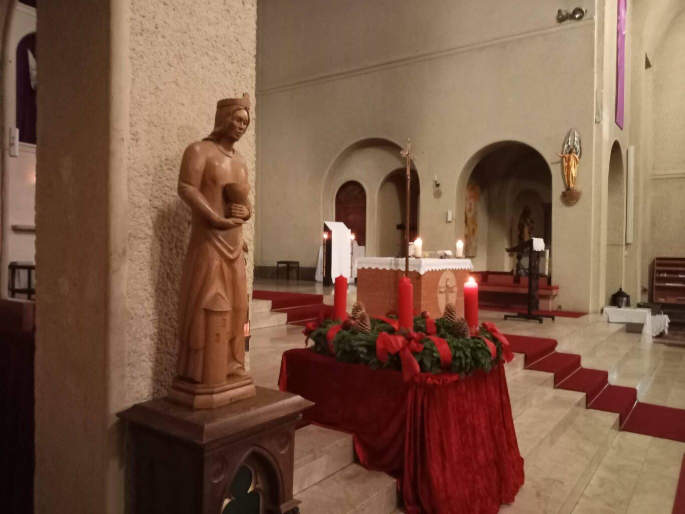 Die Kirche St. Marien Friedrichsthal