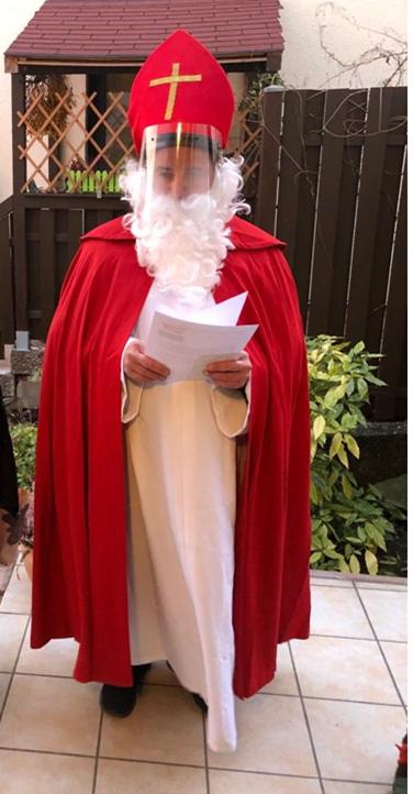 Der Nikolaus bei der NKV