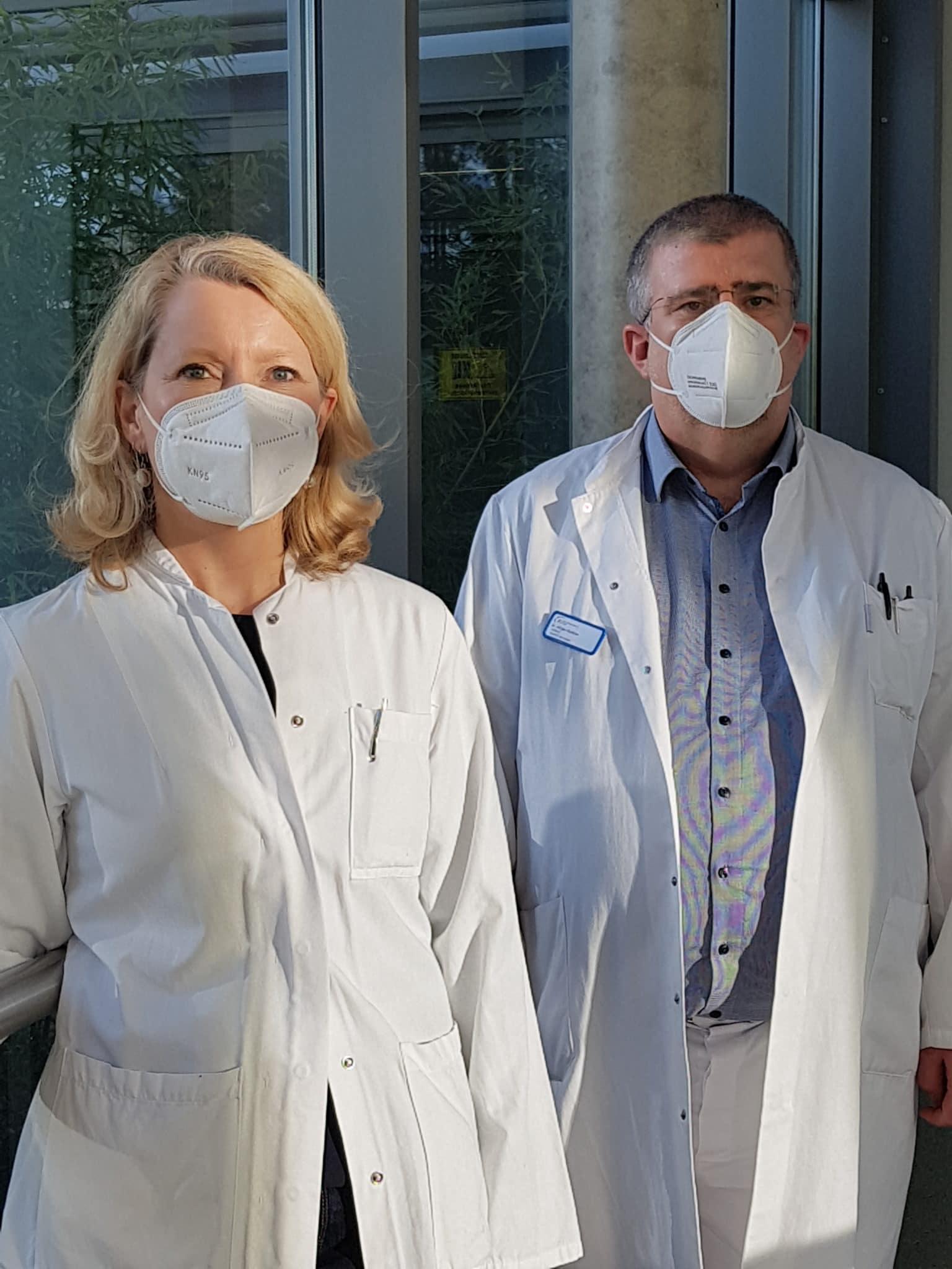 Prof. Dr. Stefanie Behnke u. Dr. Jürgen Guldner | Bild: KKSaar
