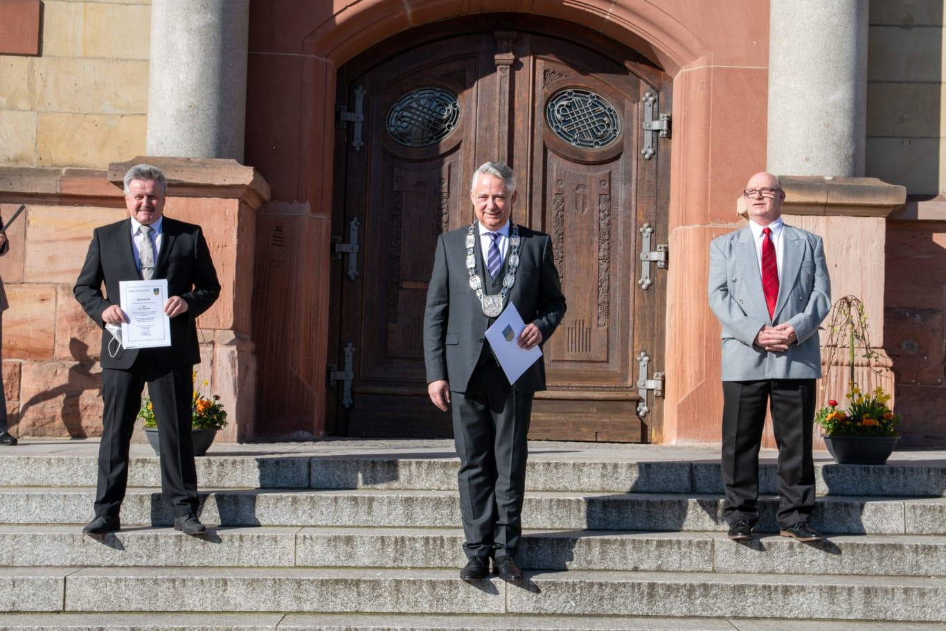 Rolf Schultheis, Christian Jung, Peter Bickelmann
