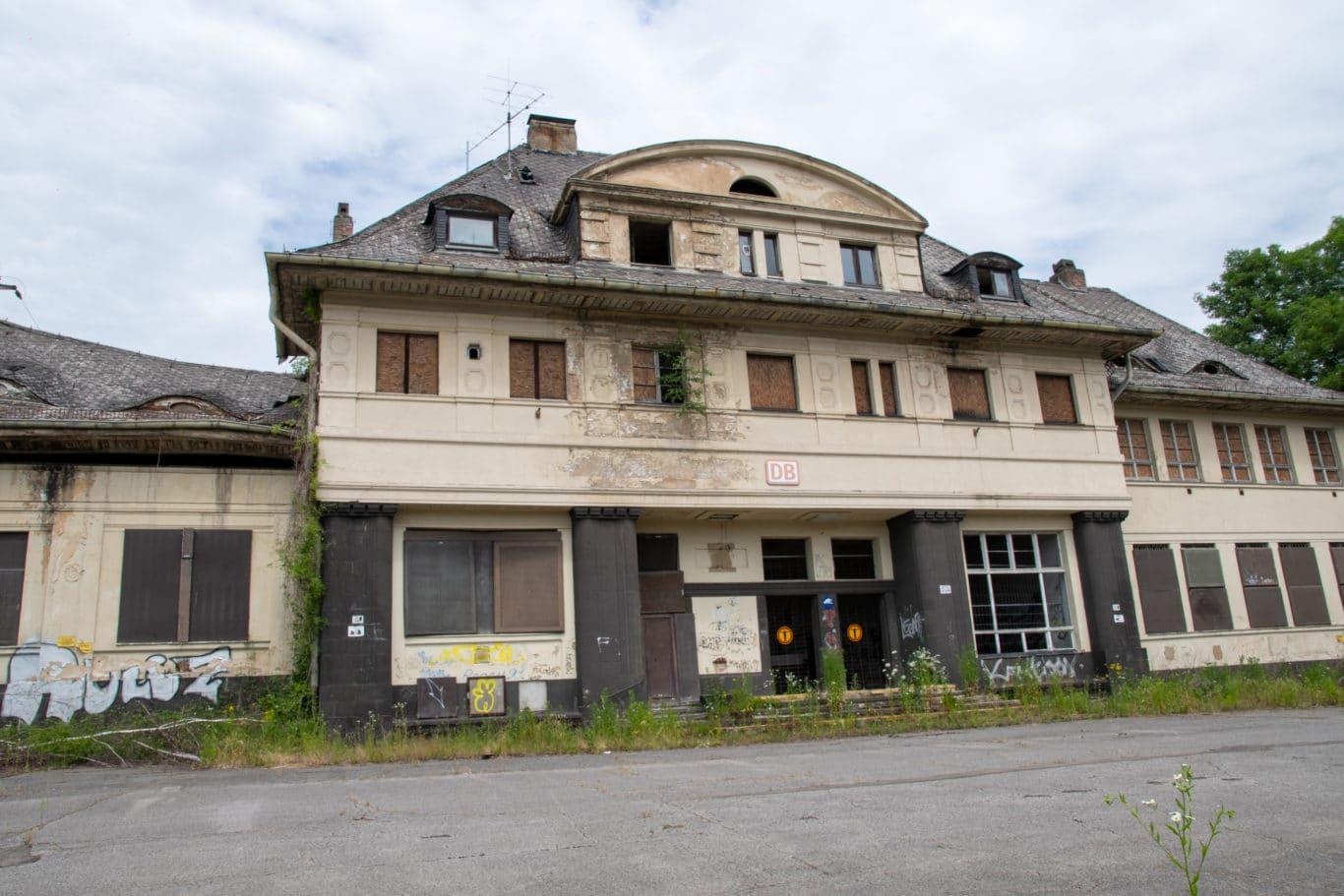Bahnhof Friedrichsthal Juni 2021