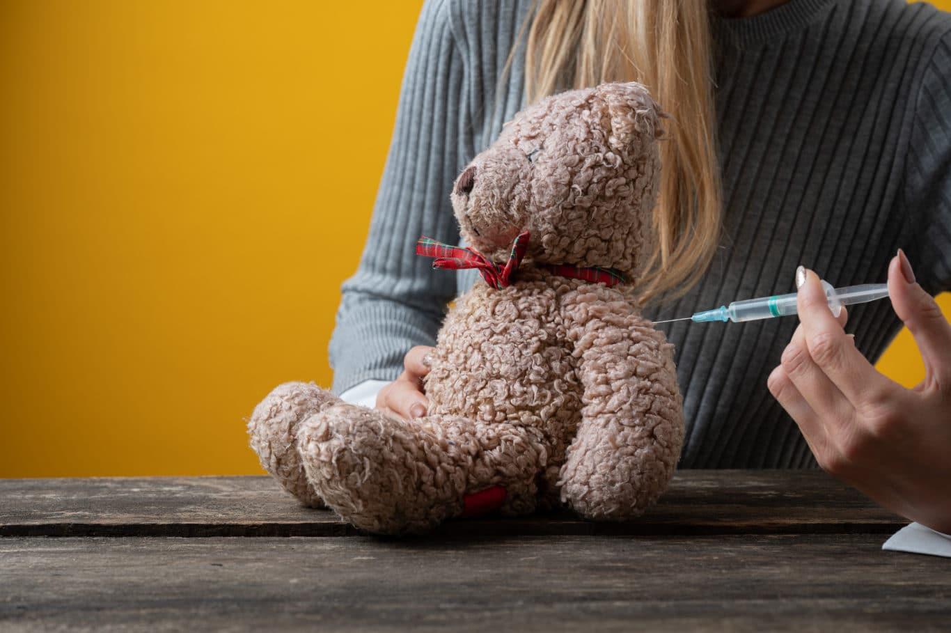 Impfung Kinder Teddy