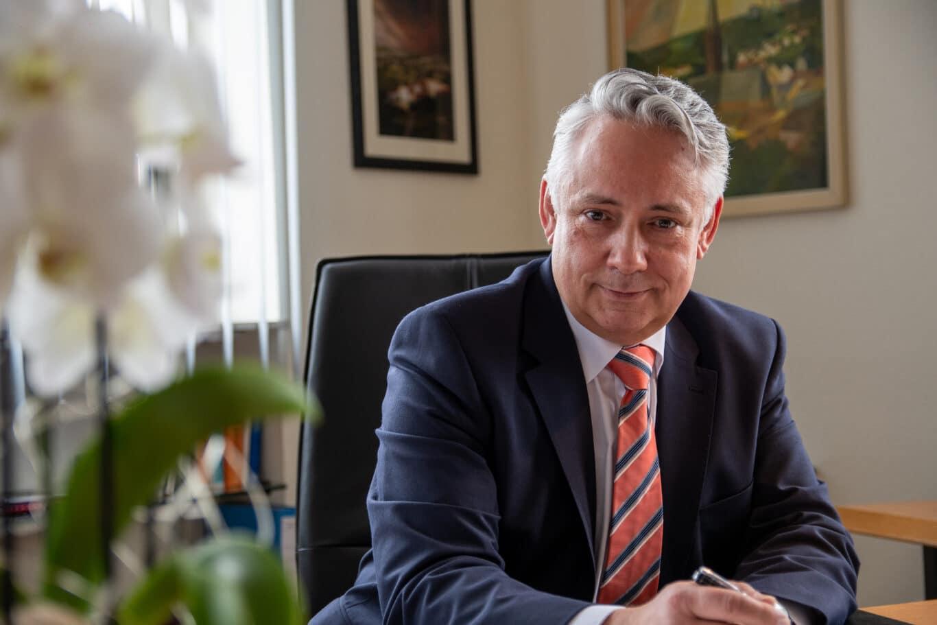 Friedrichsthals Bürgermeister Christian Jung