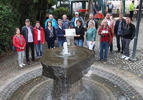 werschweiler dorfbrunnen sprudelt wieder 61484b0bef98b