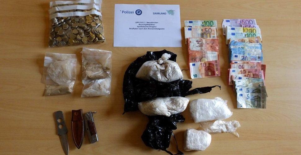 Der Drogenfund | Bild: Polizei Saarland