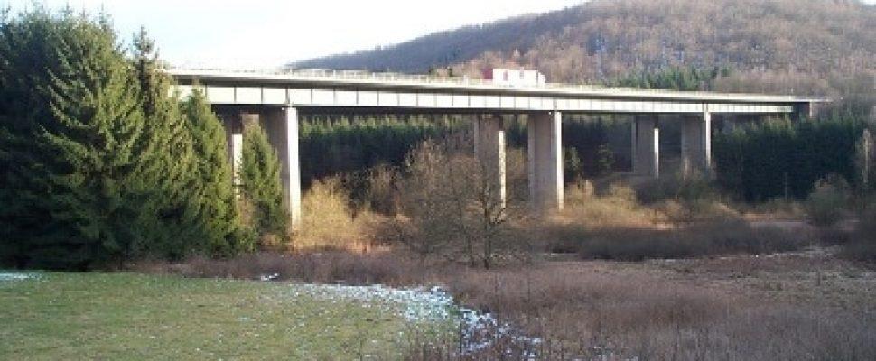 Grumbachtalbrücke vor der Sanierung