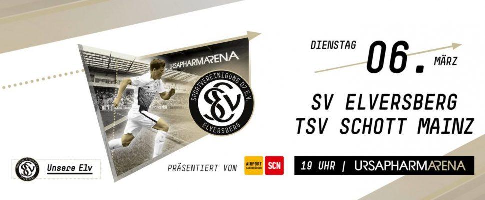 SV Elversberg - Schott Mainz