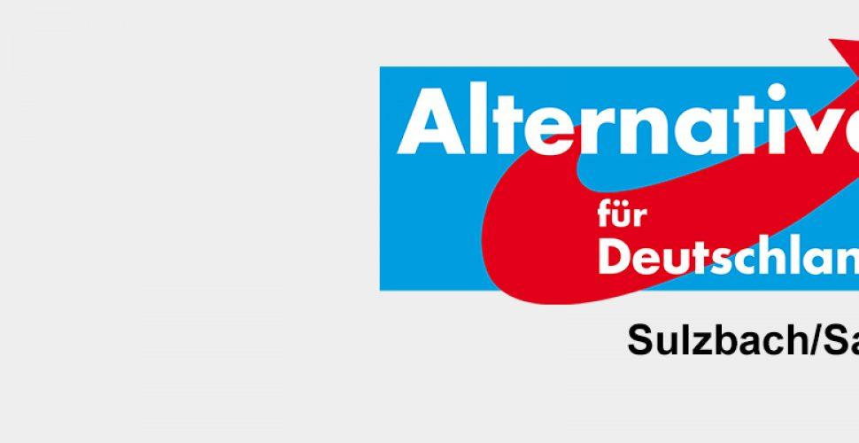 Die AFD Sulzbach/Saar informiert
