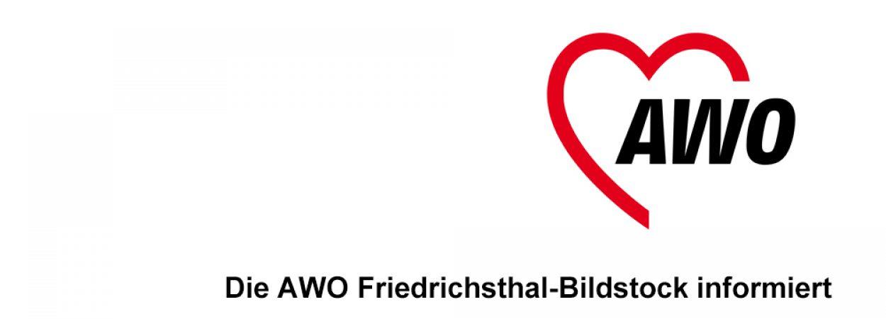 Die AWO Friedrichsthal informiert