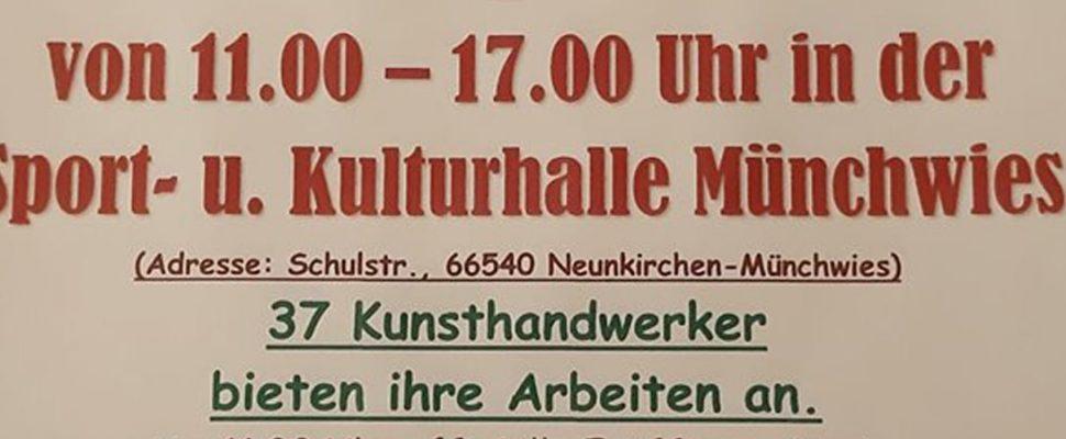 Adventsausstellung Hobbykünstler Münchwes
