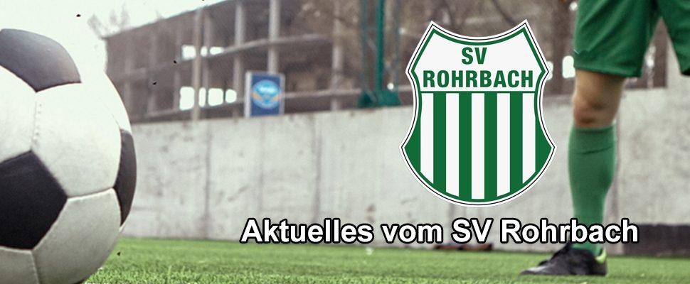 Aktuelles vom SV Rohrbach