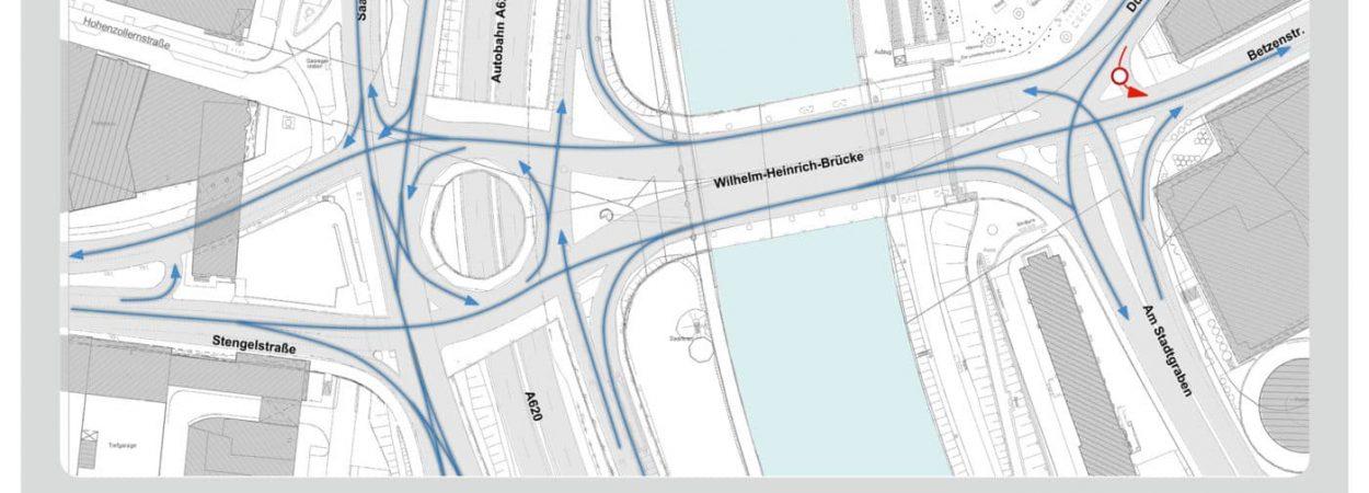 WH-Brücke Illustration