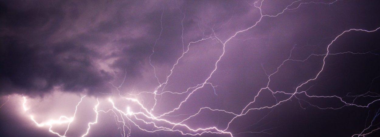 Unwetter, Blitz, Elemente