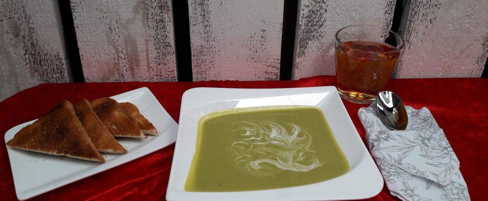 Rezept: Eine Feine Brokkolicremesuppe