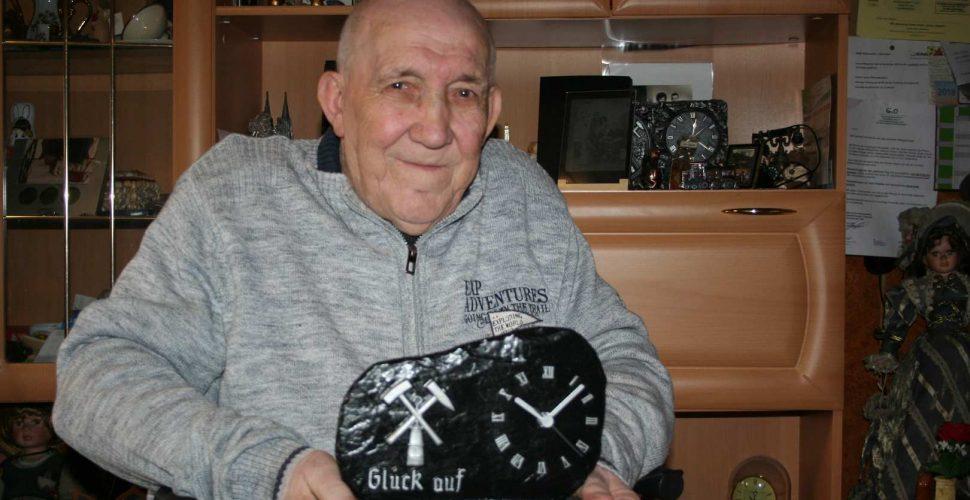 Der Jubilar Karl Deckelnick an seinem 80. Geburtstag | Bild: Günter Hofmann