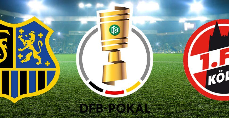 DFB Pokal FCS 1FC Köln