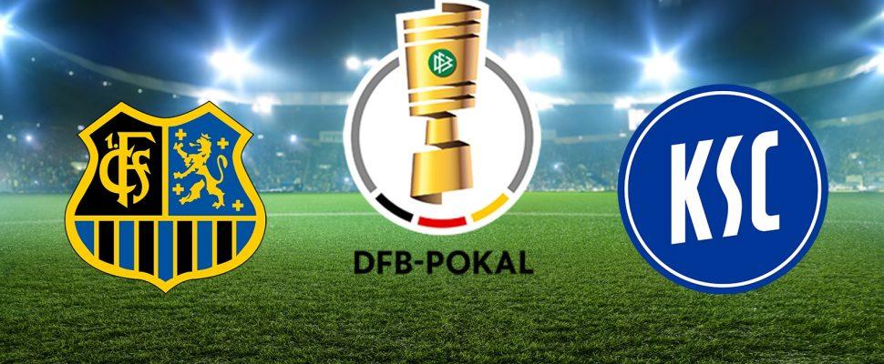 DFB Pokal 19/20 FC Saarbrücken Karlsruher SC