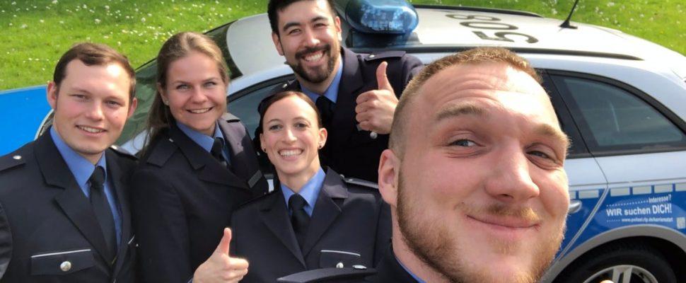 Spaß im Studium. Sie wollen auch in den Polizeidienst? Wir sind auf der Suche nach Teamplayern