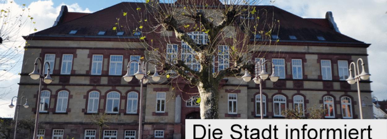 Die Stadt Friedrichsthal informiert