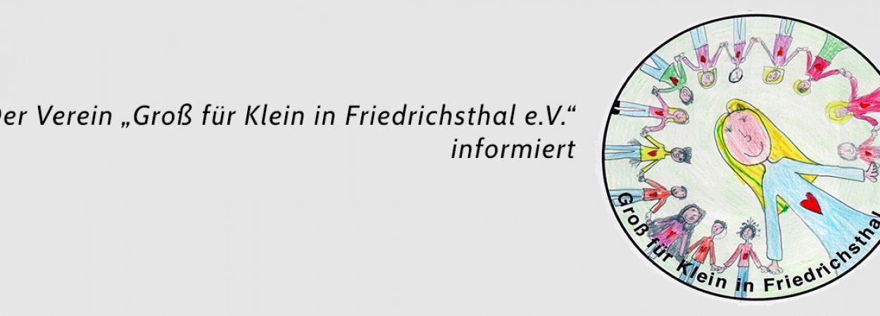 Groß für Klein in Friedrichsthal