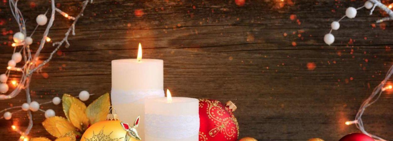 Kerzen an Weihnachten - schön, aber nicht ganz ungefährlich