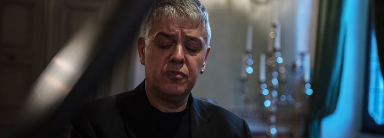 Marco Tezza am Klavier