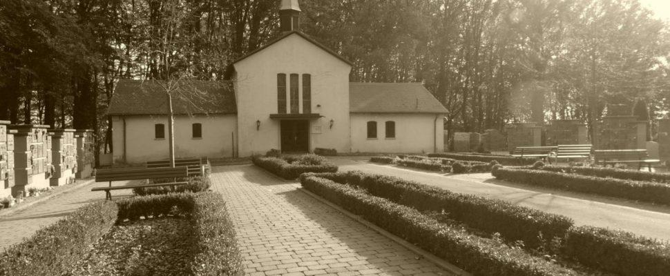 Einsegnungshalle Friedhof Friedrichsthal