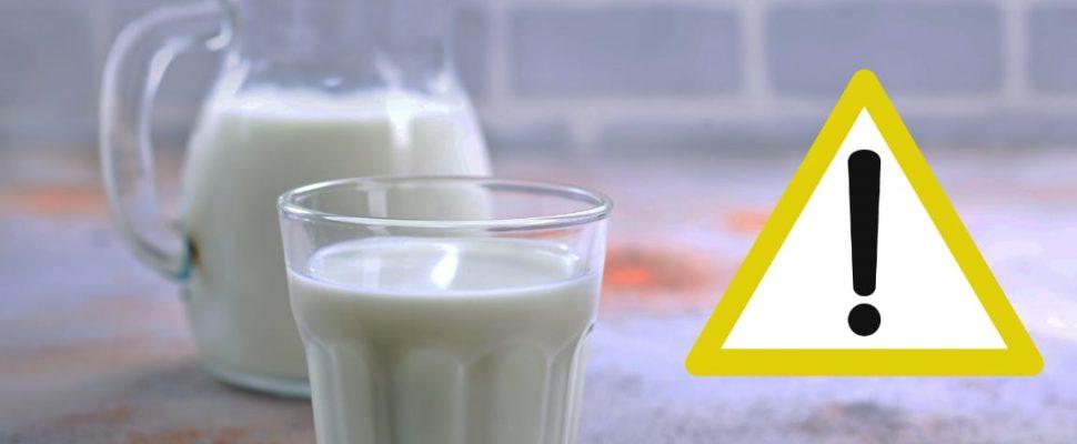 Milch wird zurückgerufen