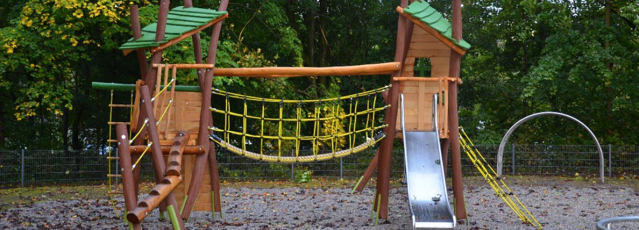 Spielgerät im Röchlingpark