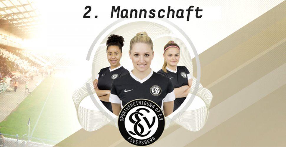 Aktuelles von der 2. Mannschaft der SV 07 Elversberg - Abteilung Frauenfußball | Bild: SV 07 Elversberg