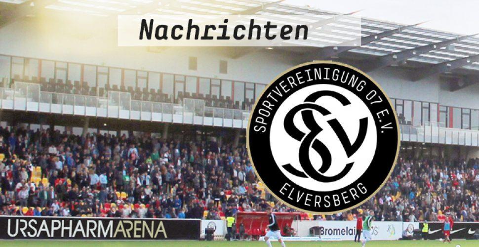 Aktuelle Nachrichten von der SV Elversberg | Bild: SV 07 Elversberg