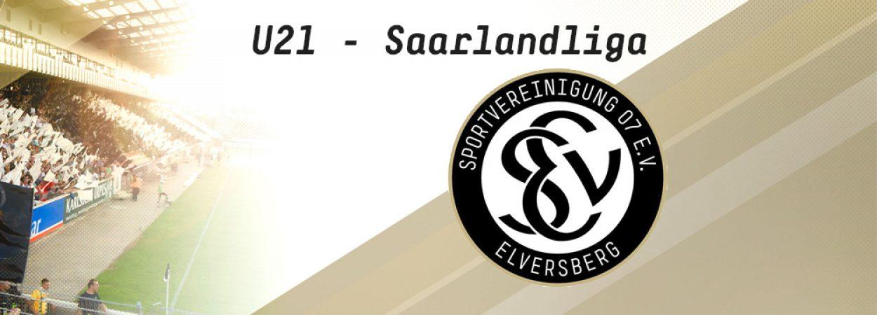 Aktuelles von der SV 07 Elversberg U21 / Saarlandliga | Bild: SV 07 Elversberg